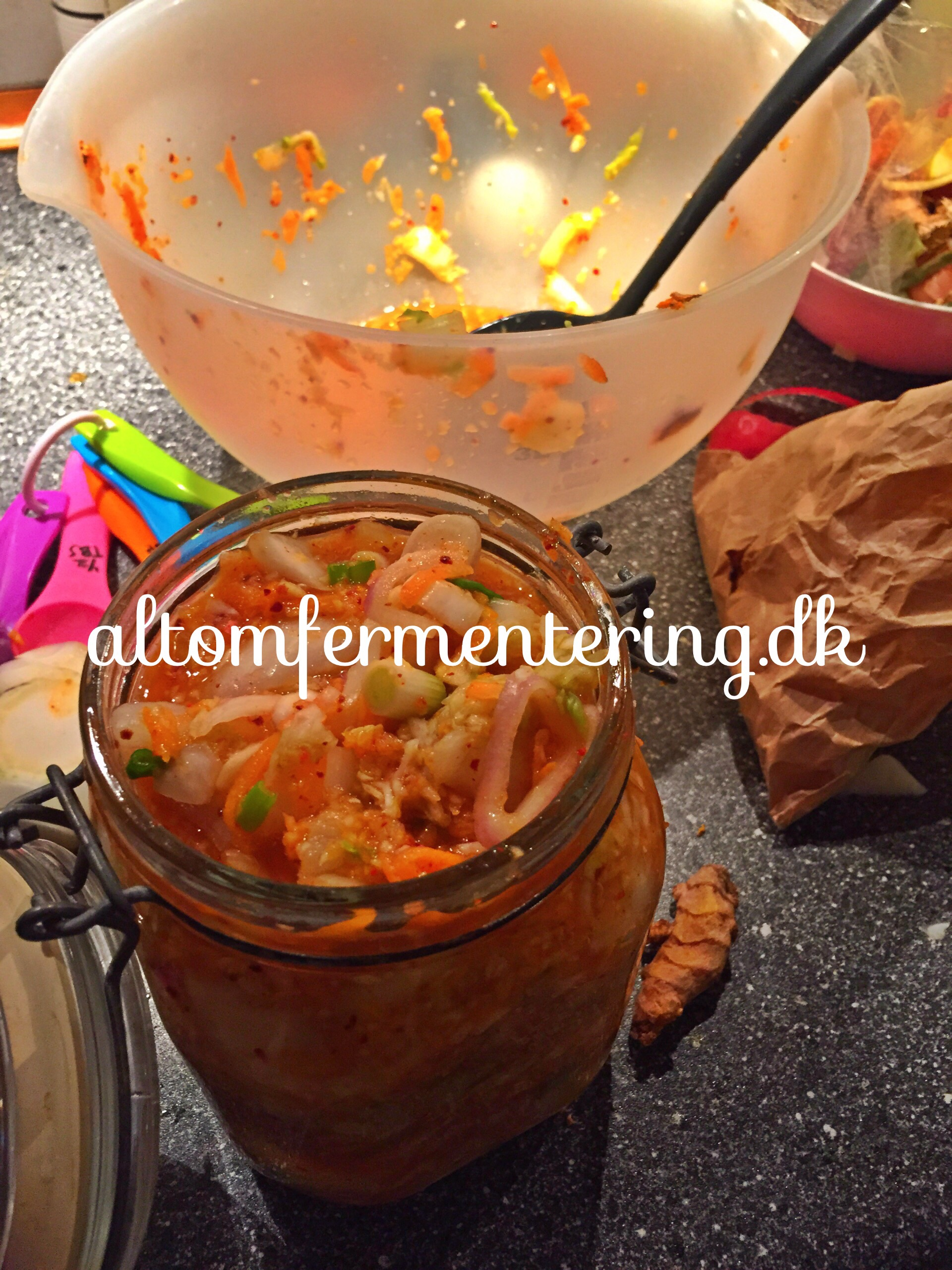 Kimchi på den nemme måde