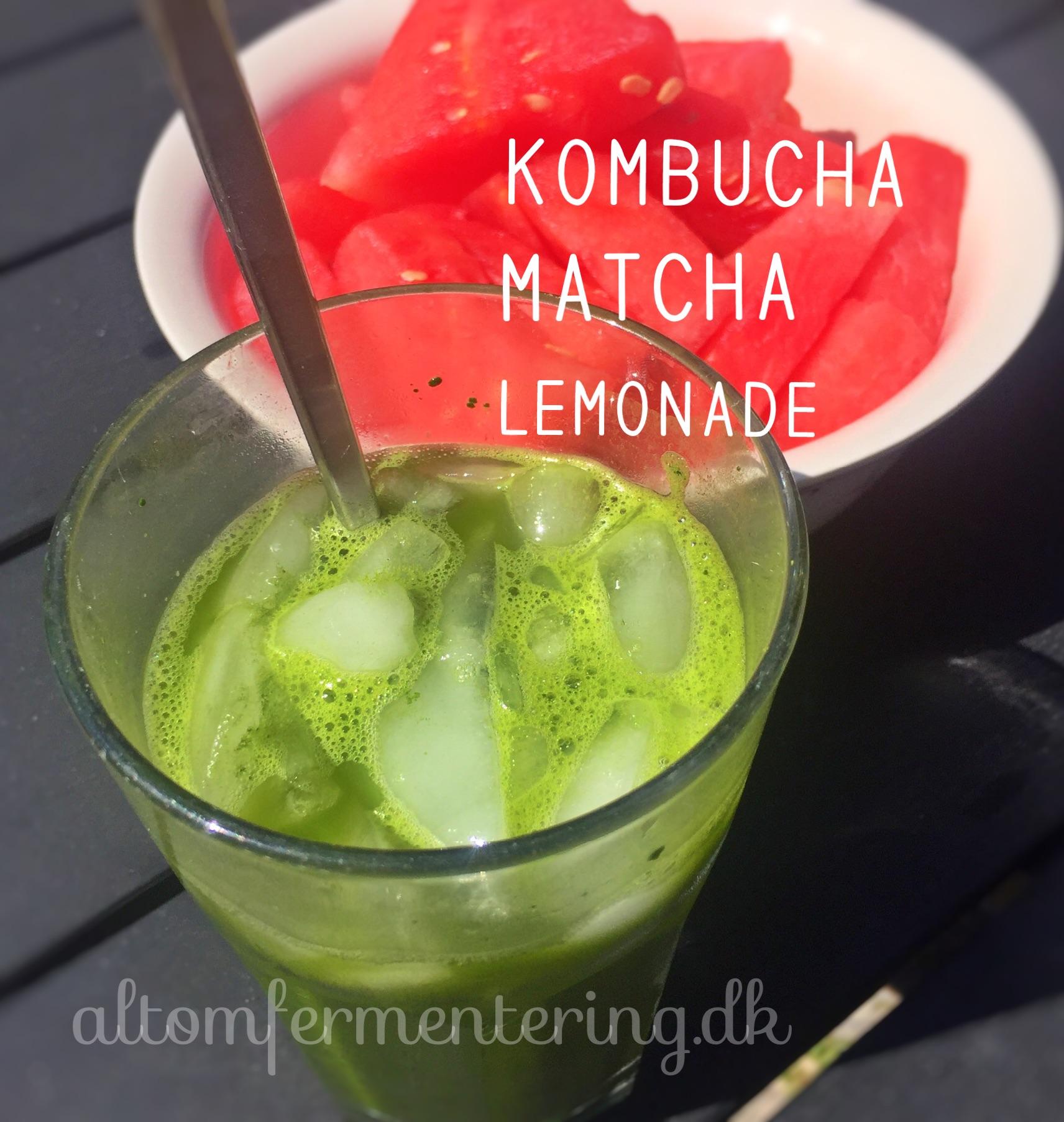 Matcha Kombucha Limonade